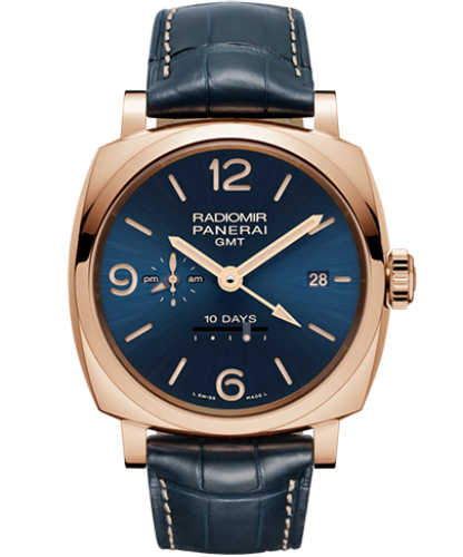 RADIOMIR 1940 10 DAYS GMT AUTOMATIC ORO ROSSO - 45MM