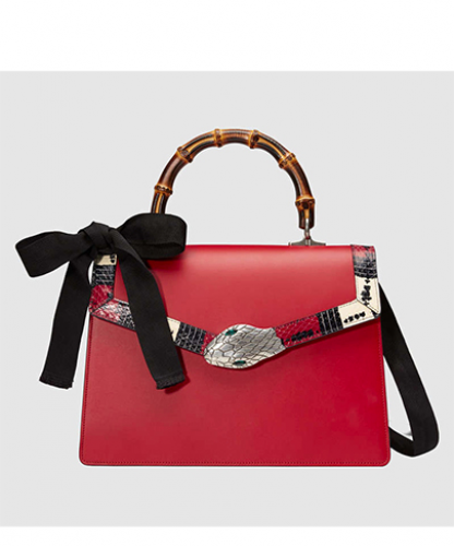 Gucci Lilith leather top handle bag